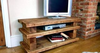 Pine Wood Tv Stands