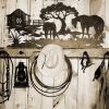 Western Metal Art Silhouettes (Photo 13 of 20)
