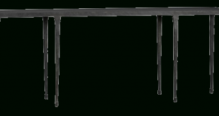 Silviano 60 Inch Iron Console Tables
