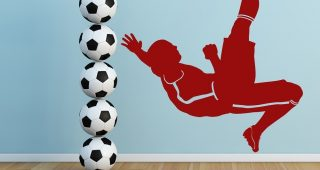 Sports Wall Decals Bring Inspiration to Your Boy's Bedroom