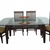 Wood Glass Dining Tables (Photo 5 of 25)