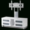White Cantilever Tv Stand (Photo 14 of 25)