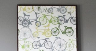 Stretched Fabric Wall Art