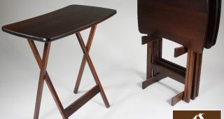 Folding Wooden Tv Tray Tables