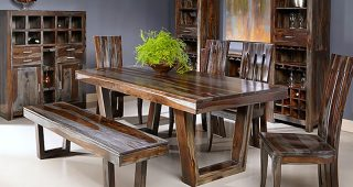 Sheesham Dining Tables 8 Chairs