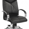 Leather Black Swivel Chairs (Photo 12 of 25)