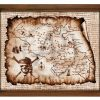 Treasure Map Wall Art (Photo 4 of 20)