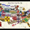 Us Map Wall Art (Photo 4 of 20)