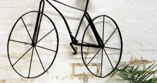 Metal Bicycle Wall Art