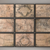 Vintage World Map Wall Art (Photo 9 of 20)