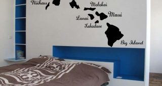 Hawaiian Islands Wall Art