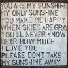 You Are My Sunshine Wall Art (Photo 1 of 10)